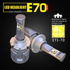 D1S D2S D3S D4S E70 LED Headlight 120W 12000LM Lens Bulbs Cree ETI-70 CHIP White