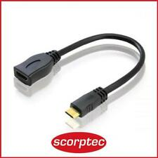 Alogic 15cm Mini HDMI(M) to HDMI (F) HDMI-MINI-ADPCL