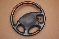 Subaru Legacy Outback Woodgrain Leather Steering Wheel LL Bean Wood Airbag 99-04