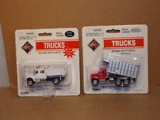 "Ho Scale Boley ""International"" Dump Trucks - Lot of (2) New Old Stock"
