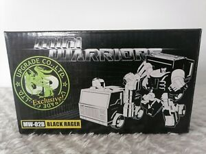 igear Third Party Transforming Mini Warriors MW-02B Black Rager Exclusive