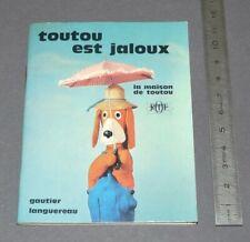 GAUTIER-LANGUEREAU MAISON TOUTOU JALOUX ORTF EO 1967 G. CROSES R. ARTARIT