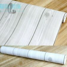 45cm x 10m Roll Wood Pattern Vinyl Film Furniture Wall Paper Sticker w3001