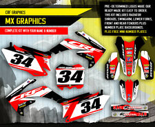 2010 2011 2012 2013 HONDA CRF 250R GRAPHICS KIT CRF250R MOTOCROSS DIRT BIKE KIT4