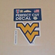 NCAA  WEST VIRGINIA MOUNTAINEERS WVU  4X4 DECAL FAST FREE SHIPPING