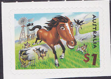 2005 Down On The Farm - $1 Horse Booklet Stamp