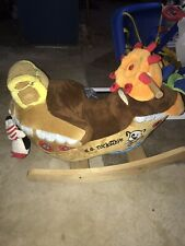 SS Rockabye Pirate Ship Rocking Horse - Ahoy Doggie Pirate Ship Rocker
