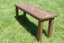 Panca in legno panchina panchetto tavolino arredo giardino pic nic campeggio