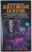 Alien Embassy by Ian Watson 1978 Ace Science Fiction Paperback