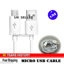 Micro USB Sync Data Charger Cable for HTC LG Motorola Nokia Samsung , White