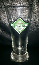 RARE COLLECTABLE CARLTON CUB DIAMOND DRAFT 285ML BEER GLASS GOOD USED CONDITION