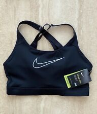 NIKE IMPACT HIGH SUPPORT STRAPPY SPORTS BRA SIZE Medium NEW WITH TAGS