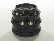 Industar-50 f/3.5 50mm glossy M39 lens Zorky-Leica S/N 6935823 RARE CLA! EXC!