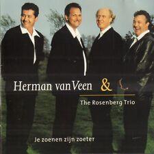 HERMAN VAN VEEN & THE ROSENBERG TRIO – JE ZOENEN ZIJN ZOETER (1999 CD)