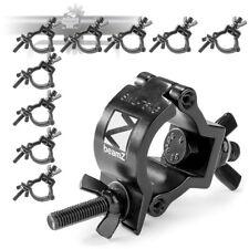 More details for 10x half coupler o-clamp truss goalpost dj stage lighting 37 - 40mm 75kg black