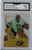 2003 Marc Andre Fleury Upper Deck Ice Promo Sample Rookie Gem Mint 10 #90