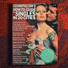 Cosmopolitan's How-To Guide for Singles in 20 Cities ~ Rare? Cosmo 1975