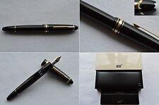 "Montblanc Meisterstuck Legrand 146 Gold Line Fountain Pen 14K ""M"" Nib"