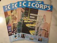 Deutsche Corpszeitung - DCZ - Jahrgang 2008 - komplett / Studentika