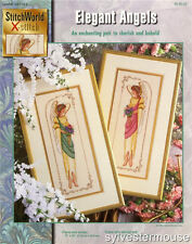 ELEGANT ANGELS Cross Stitch Pattern ~ NEW