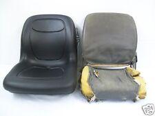 BLACK SEAT KUBOTA L3010,L3410,L3710,L4310.L4610 COMPACT TRACTOR, L48 BACKHOE #DK