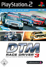 DTM Race Driver 3 Platinum PS2 Playstation 2