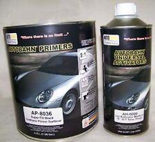 Autobahn Hot Rod Black Super Fill Urethane Primer MEDIUM Gallon Kit