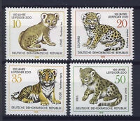 ALEMANIA/RDA EAST GERMANY 1978 MNH SC.1910/13 Leipzig zoo