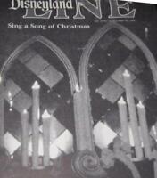Disneyland 1984 Mrs Roy Disney Obituary Christmas Candlelight Processional News