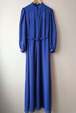 70s 80s vintage evening dress tall 10 30s 40s hollywood glam style opera soiree