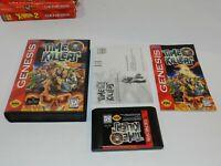 Time Killers Sega Genesis Game Complete in Box CIB Tested Near Mint
