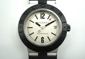 Authentic Bvlgari / Bulgari Classic Aluminum AL38TA Men's Quartz Watch