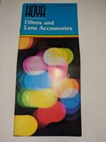Hoya Filters and Lens Accessories Catalog 36 pages
