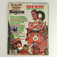 WWF Magazine December '85-January 1986 Piper Roddy & Corporal Kirchner, No Label