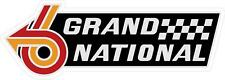 #G178 Grand National Buick Logo GN GNX  Decal Sticker Fully Laminated
