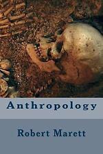 Anthropology by Robert Marett (2016, Paperback)