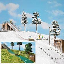 Busch 1180 Ski-Sprungschanze Bausatz für H0