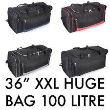 "36"" XL HUGE Extra Large Holdall Duffle Travel Bag Luggage Weekend GYM Sports Big"