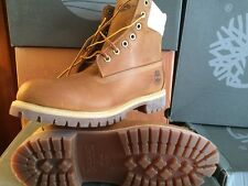 Timberland  Men's/Hommes 6 In Boot Wheat W/Canvas Size 9.5 TB0A158H