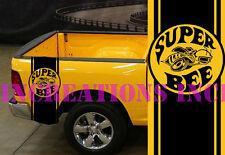 Super Bee Hemi Dodge Mopar Bed Stripes Truck Decals Stickers Set of 2 Racing