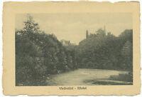 D NEUWIED am Rhein, ca. 1910, ungebr. Kupferstich-AK Wiedbachtal -Altwied