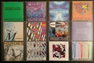 BRUTON MUSIC - JOBLOT OF 12 CDS - LOT 5