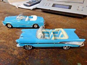 Matchbox Dinky DY29 Buick Skylark & Matchbox Dinky DY27 Chevrolet Convertible