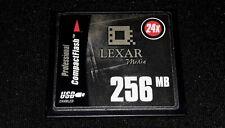 LEXAR COMPACT FLASH / CF CARD 256MB