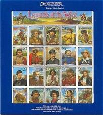 2870, Legends of the West Error sheet with blue holder - Stuart Katz