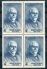 STAMP / TIMBRE FRANCE NEUF N° 551 ** BLOC DE 4 PHYSICIEN ANDRE BLONDEL