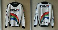 PDM Team Cycling Netherlands Shirt Cycle Size 5 Jersey 1990/1995 Ultima White