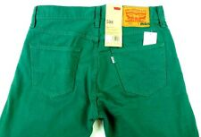 $64 New Mens LEVIS 508 Slim Taper Jeans 30 x 32 Mid-Green cotton pants hipster G