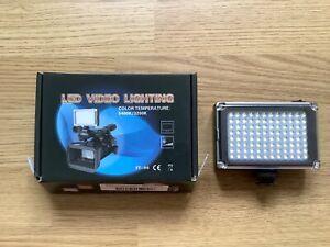 Video LED Light Lamp Filters Canon Nikon DSLR SLR Camera
