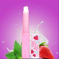 Fade Moisturizing Lips Moisture Lasting Lipstick Lip Balm Changing Strawberry